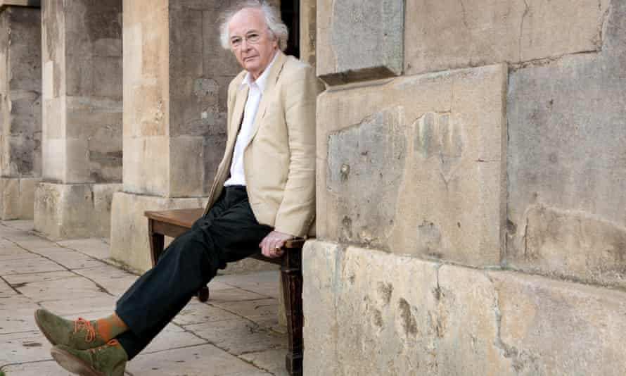 Philip Pullman in Oxford.