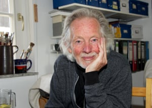 'I was spoiled' ... Voormann today in his studio in Germany.