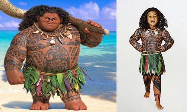 Il costume di Maui per Oceania, lungometraggio d'animazione Disney
