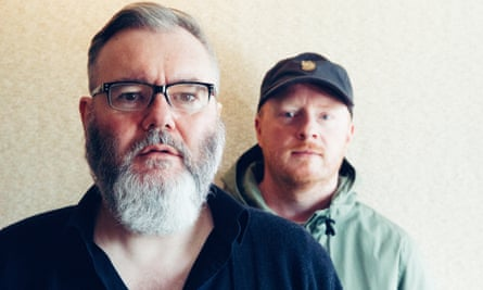 Aidan Moffat and Malcolm Middleton of Arab Strap