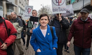Anne-Marie Waters, the leader of For Britain