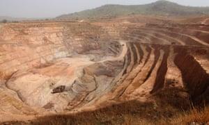 The Nordgold mine in Lefa.