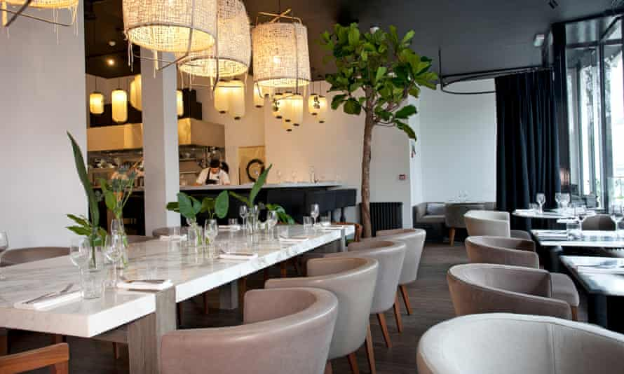 'Very much a disaster avoided': Angelina's dining room.