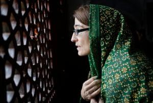New Delhi, India:Sarah Sewall, U.S. Under Secretary for Civilian Security, Democracy and Human Rights