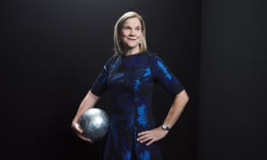 US World Cup winner Jill Ellis won the award for best women's coach for the first time.