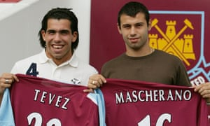 The  September 2006  arrival of Carlos Tevez and Javier Mascherano  in east London was supposed to be a coup for West Ham, but the controversial transfer proved to be a mixed blessing for the Hammers.