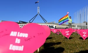all love is equal sign in front of parliament house