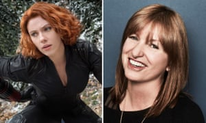 Scarlett Johansson (L) will reprise her role as Black Widow, in a film to be directed by Aussie Cate Shortland (R).