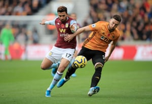 Doherty holds off the attentions of Trezeguet.