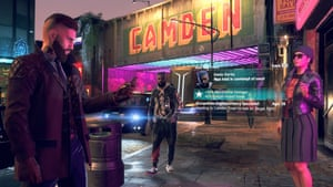 London as depicted in Watch Dogs Legion, published by French company Ubisoft