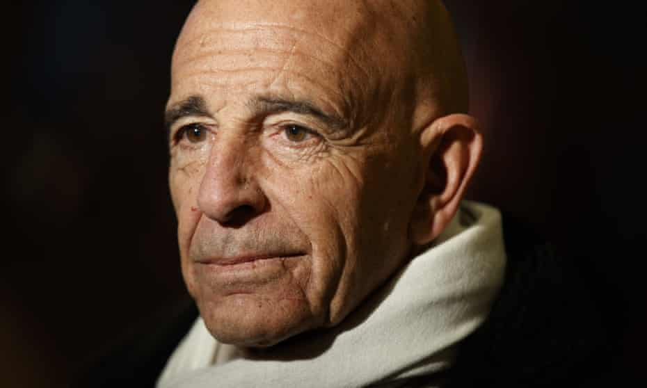 Tom Barrack. The topics covered in questions from Mueller's team were not immediately clear.