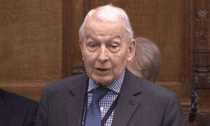 Frank Field in the Commons