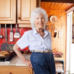"""'My grandchildren love what they call my """"granny carrots""""': Margit Vercoe."""