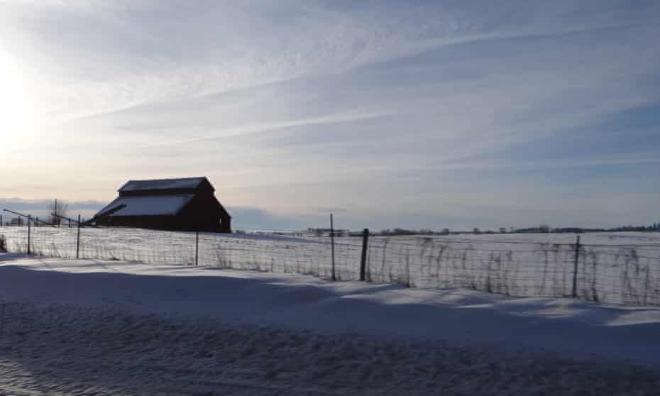 On the outskirts of history … a farm in Iowa.