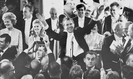 President Richard Nixon in 1969