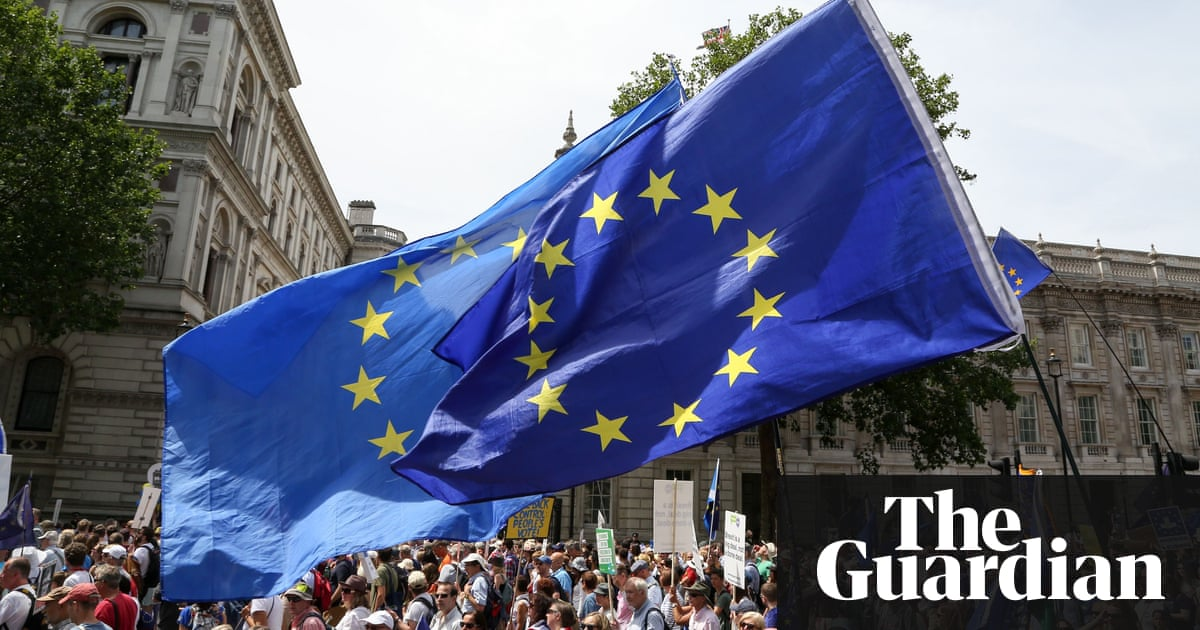 Anti-Brexit People's Vote march in London – in pictures