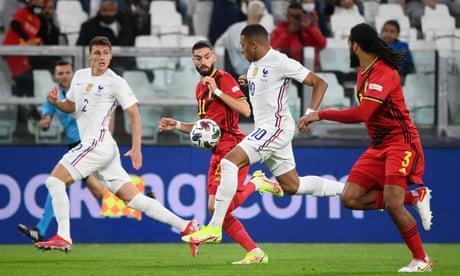 Belgium v France: Nations League semi-final – live!