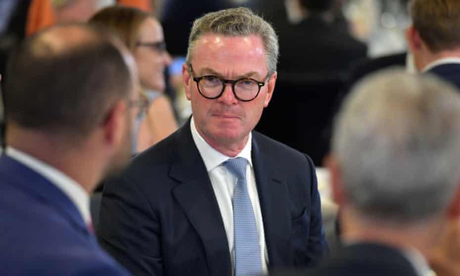 Australia's former defence minister Christopher Pyne in Canberra