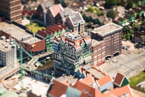 Major City Or Model Village Amsterdam Miniaturised In