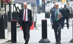 The government's chief medical officer Chris Whitty (left) and chief scientific adviser Patrick Vallance