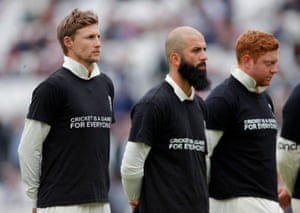 Joe Root , Moeen Ali and Jonny Bairstow with a message to all.
