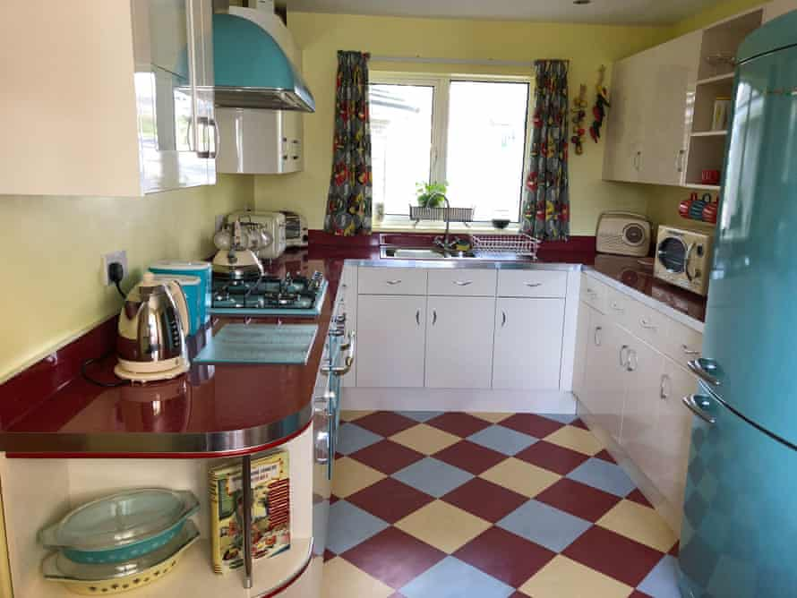 Emma Preston has a 50s-styled home