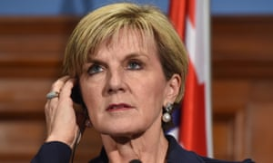 """Diplomats have told the foreign affairs minister, Julie Bishop, that """"prospects are bleak for meaningful progress in multilateral arms control""""."""