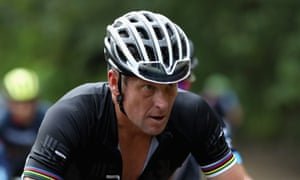 Lance Armstrong on the road to redemption when taking part in the La Ruta de Los Conquistadores in Costa Rica in November.