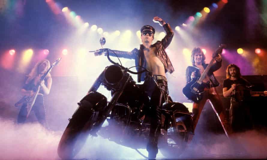 Metal gods … Judas Priest in 1979.