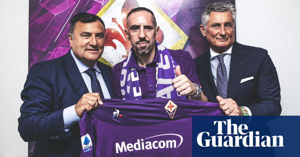 Franck Ribéry joins Fiorentina on free transfer after leaving Bayern Munich