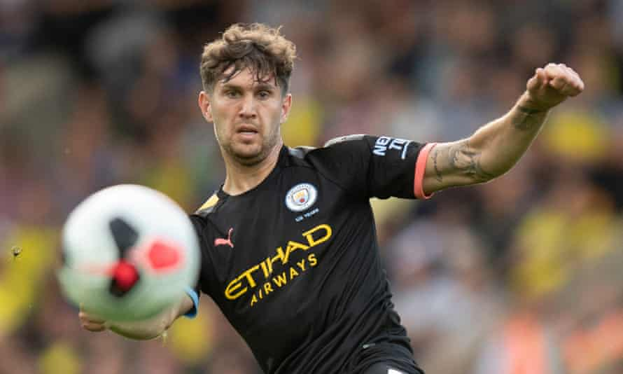 Manchester City's John Stones will be out for four to six weeks, according to Pep Guardiola.