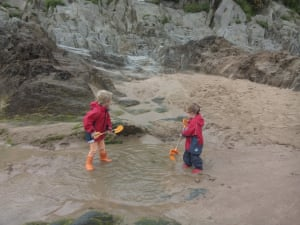 """<strong>Windy Woolacombe</strong><br>A tale of misplaced optimism here from <a href=""""https://witness.theguardian.com/user/goldenkippers"""">goldenkippers</a>.<br>""""It stopped raining at about 10am, so we decided to brave the beach rather than head to a farm with a soft play area. That was a mistake! It soon poured with rain and was very windy, making the beach a less attractive proposition even with waterproofs. This is why people go to Menorca.""""<br>Photograph: <a href=""""https://witness.theguardian.com/assignment/55b6038de4b0a4260de253c7/1638087"""">https://witness.theguardian.com/assignment/55b6038de4b0a4260de253c7/1638087</a>goldenkippers/GuardianWitness"""