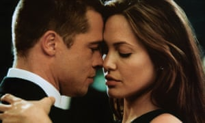 Image result for angelina and brad in mr and mrs smith