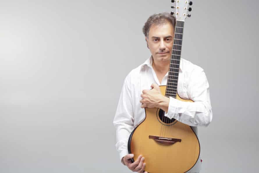 Guitarist Pierre Bensusan.