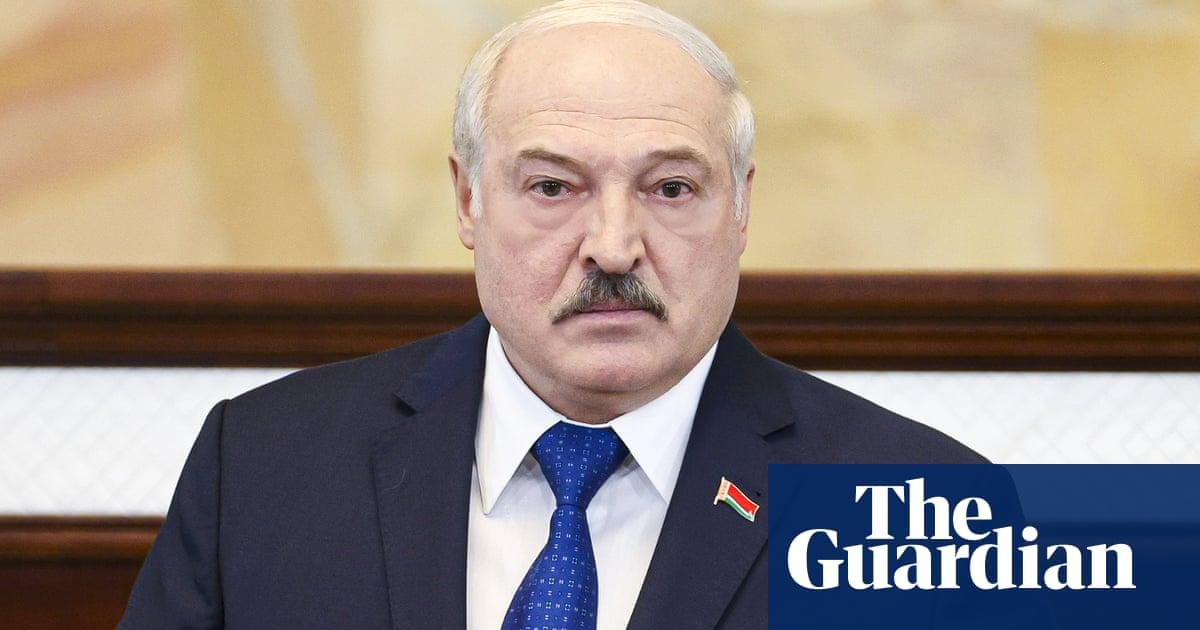 Belarus president accuses west of launching 'hybrid modern war'