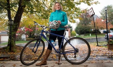 Juli Briskman in her hometown of Sterling, Virginia.