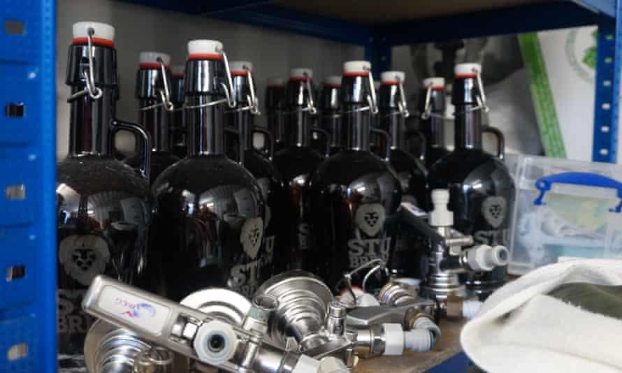 stu brew bottles