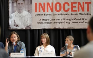 """Supporters of the """"West Memphis Three"""" argue there were two sets of victims from the May 5, 1993 crime: the three murdered 8-year-olds and Damien Echols, Jason Baldwin and Jessie Misskelley, the then-teenagers who defenders claim were wrongly convicted in the deaths."""