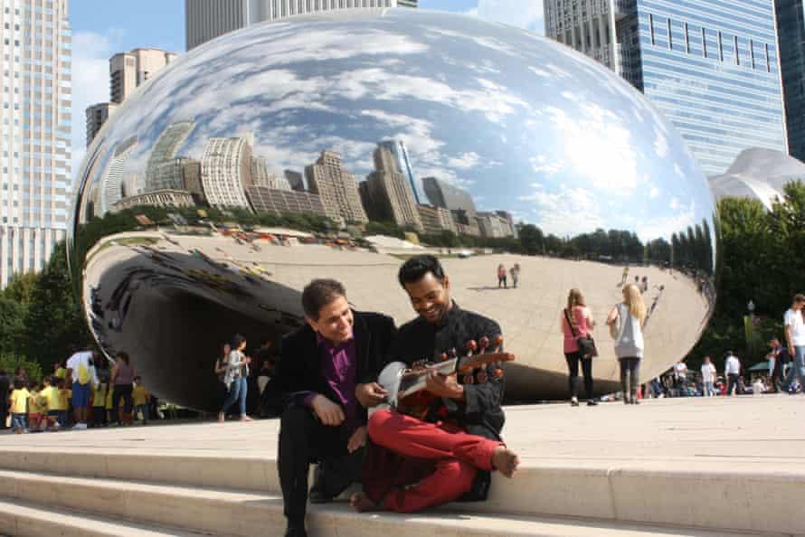 Param Vir and Soumik Datta in Chicago, 2013.