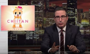 'I'm in a public beef with an unsanctioned Japanese otter' ... John Oliver