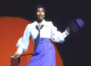 Pearl Bailey, in the 1967 Broadway revival of Hello, Dolly!