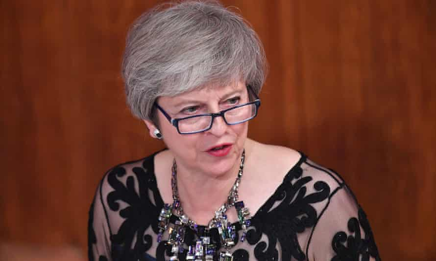 Theresa May said at the lord mayor's banquet that there remained 'significant issues' to resolve in the Brexit talks.