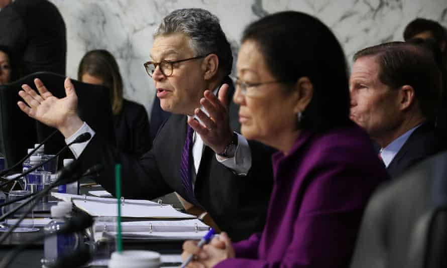 Al Franken questions witnesses from Google, Facebook and Twitter.
