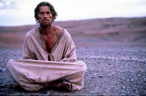 Dafoe in The Last Temptation of Christ.