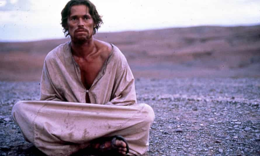 Willem Dafoe as Jesus in Martin Scorsese's film of The Last Temptation of Christ.