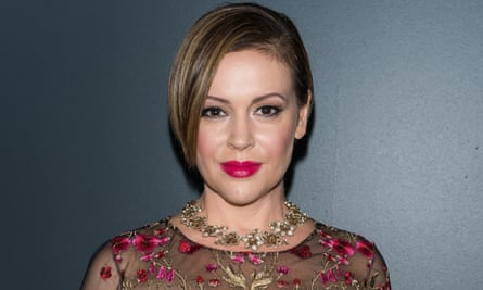 Alyssa Milano: 'It was the perfect storm to happen and I feel really blessed I was the vessel, the messenger.'