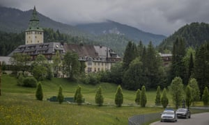 The Schloss Elmau luxury hotel in Bavaria, Germany, the location of the 41st G7 summit.