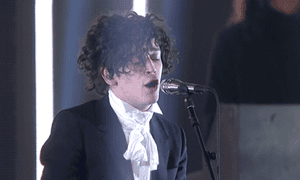 Charm offensive … Matthew Healy of the 1975.