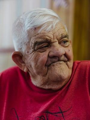 Retired Reverend Gerald in Diana, West Virginia.