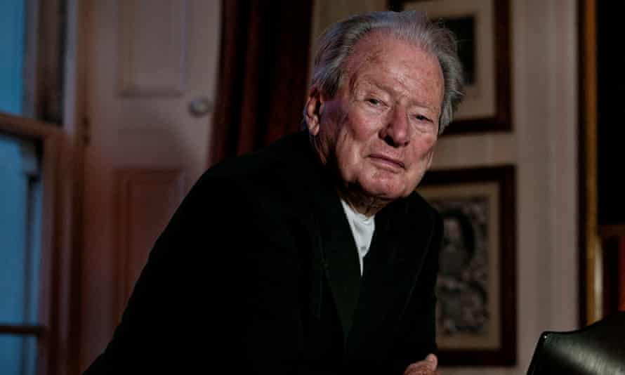 Sir Neville Marriner at his home in South Kensington.